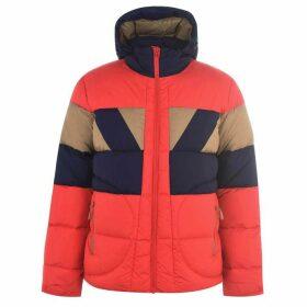 Jack Wolfskin Colour Block Puffer Jacket - Peak Red