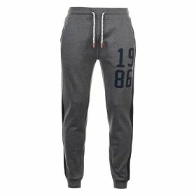 SoulCal 1986 Panel Joggers - Charcoal