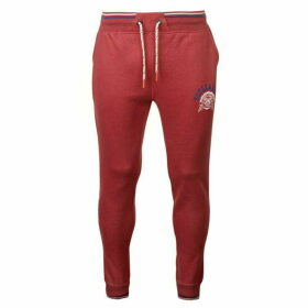 SoulCal Deluxe Tipped Jogging Pants - Red