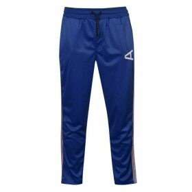 Arcminute Closed Hem Jersey Jogging Bottoms - Blue