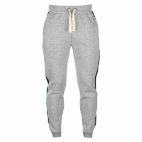 SoulCal Block Colour Jogging Pants Mens - Grey M/Navy