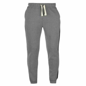 SoulCal Block Colour Jogging Pants Mens - Charcoal/Black