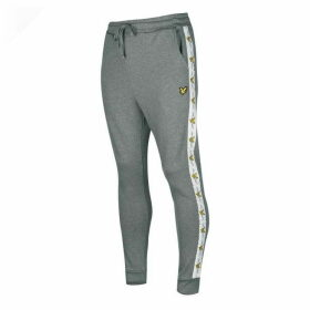Lyle and Scott Taped Jogging Bottoms - Grey