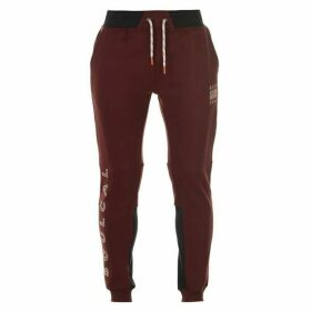 SoulCal Deluxe Knee Panel Jogging Pants - Blue
