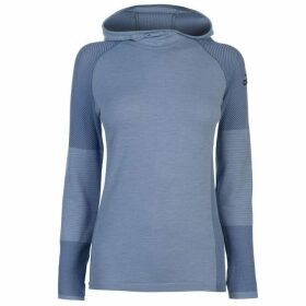 adidas ClimaHeat Long Sleeve Hooded Top Ladies - Raw Grey
