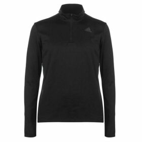 adidas Response Zip Top Mens - Black