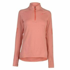 adidas Supernova half Zip Top Ladies - Trace Scarlet