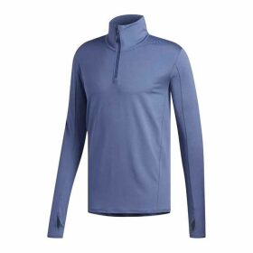 adidas SuperNova Half Zip Running Jacket Mens - Indigo