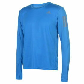 adidas RSP Long Sleeve T Shirt Mens - Bright Blue