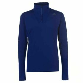 adidas Supernova Zip Top Mens - Navy