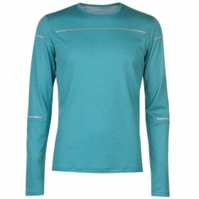 Asics Lite Show Long Sleeve Top Mens - Lake Blue