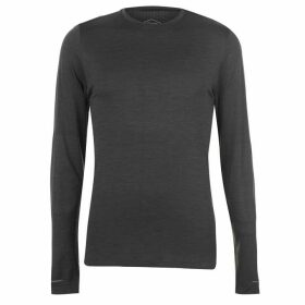 Asics Seamless Long Sleeve T Shirt Mens - Grey Heather