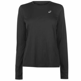 Asics Core Long Sleeve Running Top Ladies - Black