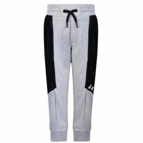 DKNY Black Logo Jogging Bottoms - Gris Chine