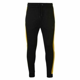 Everlast Bronx Jogging Bottoms Mens - Black