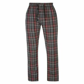 Gelert Flannel Pants Mens - Smk/Red/Blk Pld