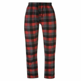 Gelert Flannel Pants Mens - Red Buffalo Pld