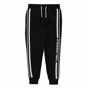 KARL LAGERFELD Bad Boy Jogging Bottoms - Black