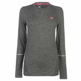 Karrimor XLite MI T Shirt Ladies - Light Grey Marl