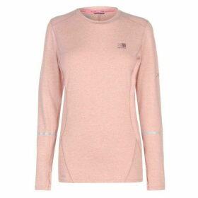 Karrimor XLite MI T Shirt Ladies - Dusky Pink Marl