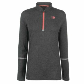 Karrimor XLite MI Zip Top Ladies - Dark Grey Marl