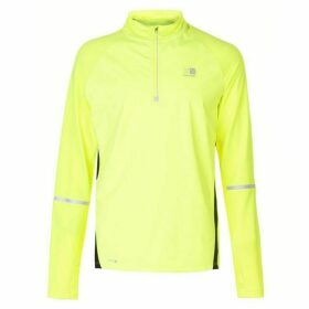 Karrimor XLite Zip Top Mens - Fluo Yellow