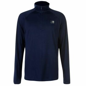 Karrimor Quarter Zip Running Top Mens - Dk Blue