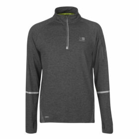 Karrimor X Lite Running Top Mens - Dark Grey Marl