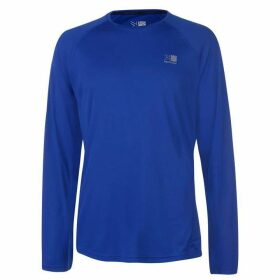 Karrimor Long Sleeved Running T Shirt Mens - Blue