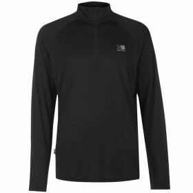 Karrimor Quarter Zip Running Top Mens - Black