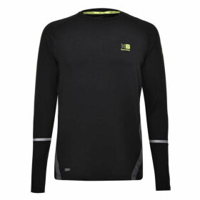 Karrimor XLite Long Sleeve T Shirt Mens - Black