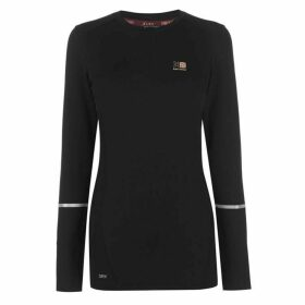 Karrimor Xlite Long Sleeve T Shirt Ladies - Black
