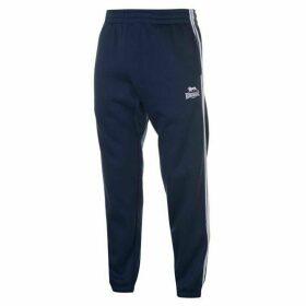 Lonsdale 2 Stripe Jogging Pants Mens - Navy/White