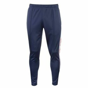 Reebok Taped Trackster Tracksuit Bottoms Mens - Heritage Navy