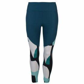 Under Armour Balance Print Crop Pants Ladies - Teal