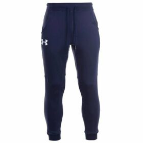 Under Armour Rival Fleece Tracksuit Bottoms Mens - Navy