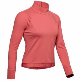 Under Armour CoolGear Rush Long Sleeve Top Ladies - Pink/Black