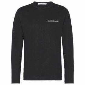Calvin Klein Jeans Institutional Back Logo T Shirt - Black