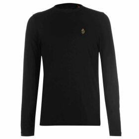 Luke Sport Traff Long Sleeve T Shirt - Black