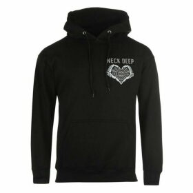 Official Official Band Neck Deep Hoody Mens - Black