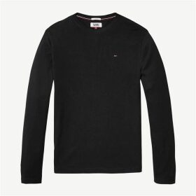 Tommy Jeans Long Sleeve Tee - Black
