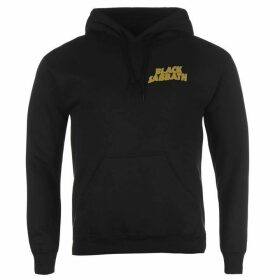Official Black Sabbath Hoody Mens - Black