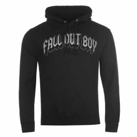Official Fall Out Boy Hoody Mens - Black