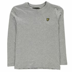 Lyle and Scott Classic Long Sleeve T Shirt - Grey