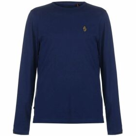 Luke Sport Traff Long Sleeve T Shirt - Navy