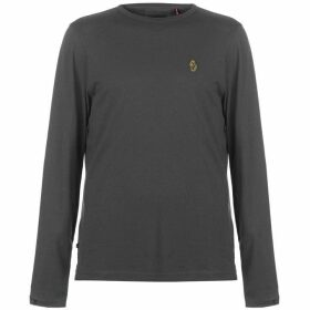 Luke Sport Traff Long Sleeve T Shirt - Charcoal