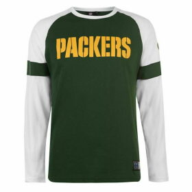 NFL Long Sleeve Raglan T Shirt - GB Packers