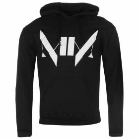 Official Marilyn Manson Hoody Mens - Monogram
