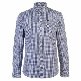 Soviet Gingham Shirt - Black/Blue