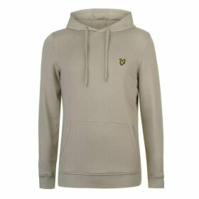 Lyle and Scott Lyle OTH Basic Logo Hoodie - Green Stone